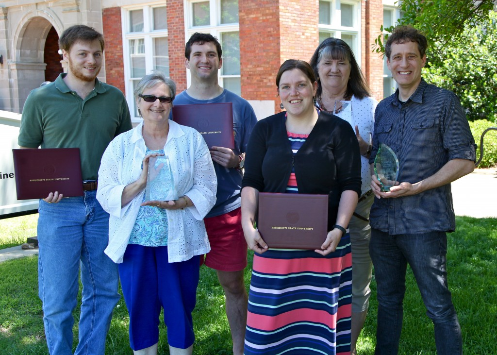 Back row from L-R: Christopher Barrett, Sean Offenberger, Bonnie Ladner, and James Fowler. Front row from L-R: Mary Ann Richardson and Nicole Ivancic