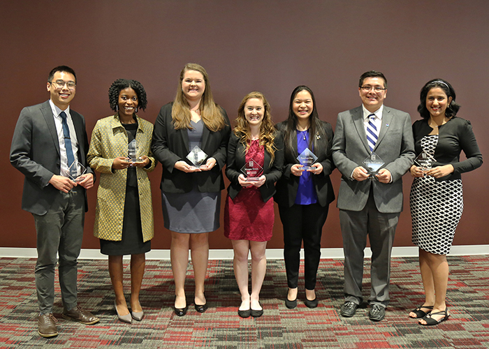 Seven students were elected to the Bagley College of Engineering Student Hall of Fame