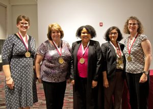 Five were honored with endowed chairs while six hold endowed professorships