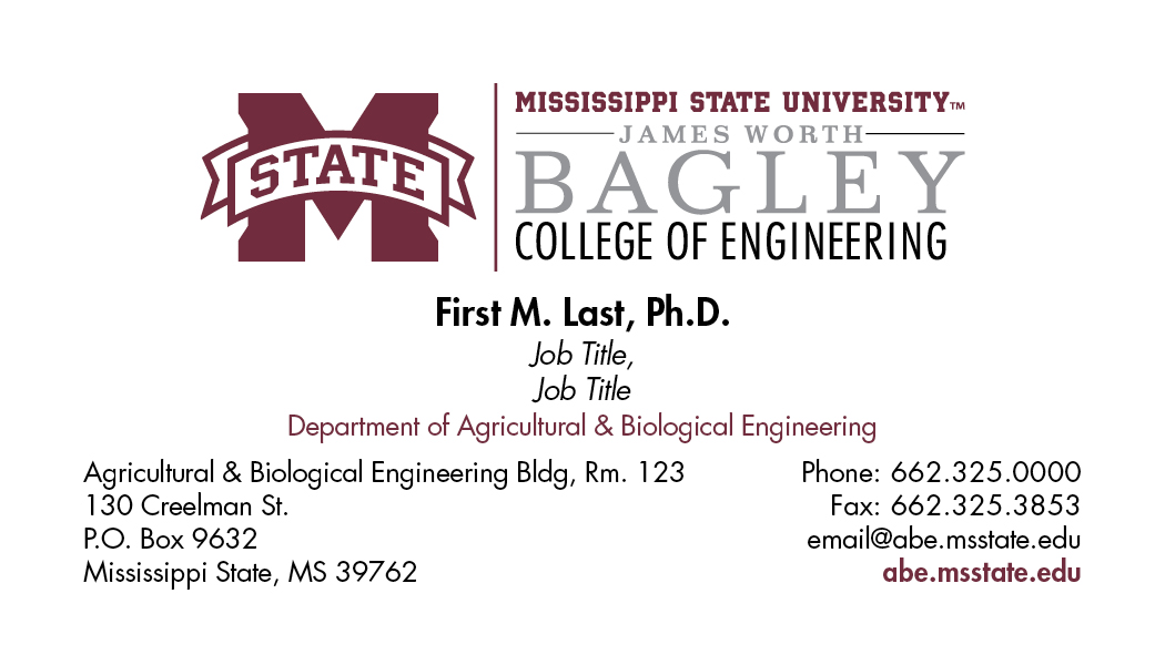 Bagley College of Engineering | Mississippi State University ...