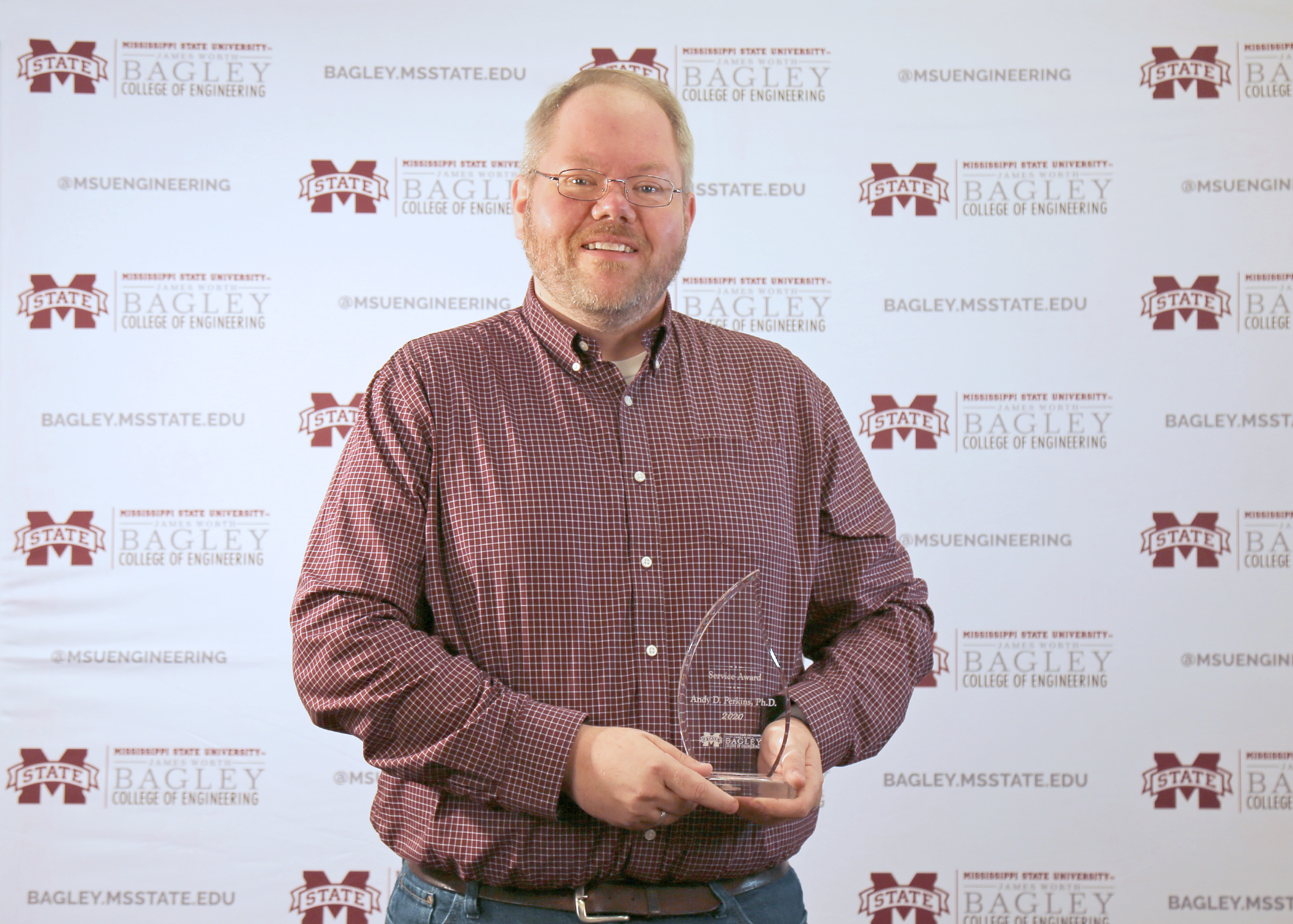 Service Award – Andy Perkins, Computer Science and Engineering