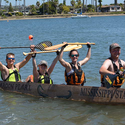 Concrete Canoe team earns Top 15 finish at national competition