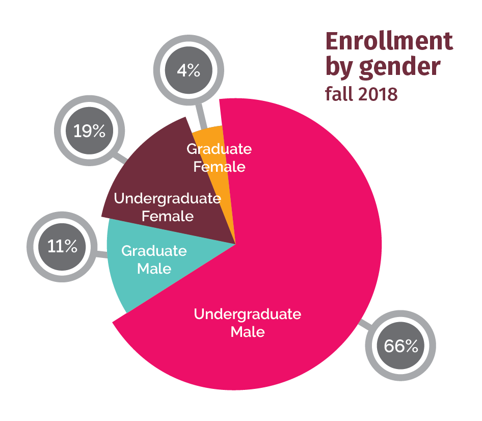 Enrollment by Gender