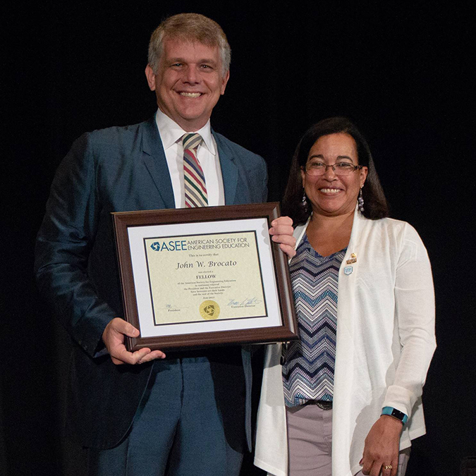 Brocato named Fellow of ASEE
