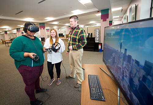 MSU Libraries, CAVS collaborate to provide students with access to virtual and augmented reality