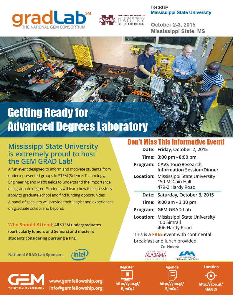 Mississippi state university hosts the gem grad lab publicscrutiny Gallery