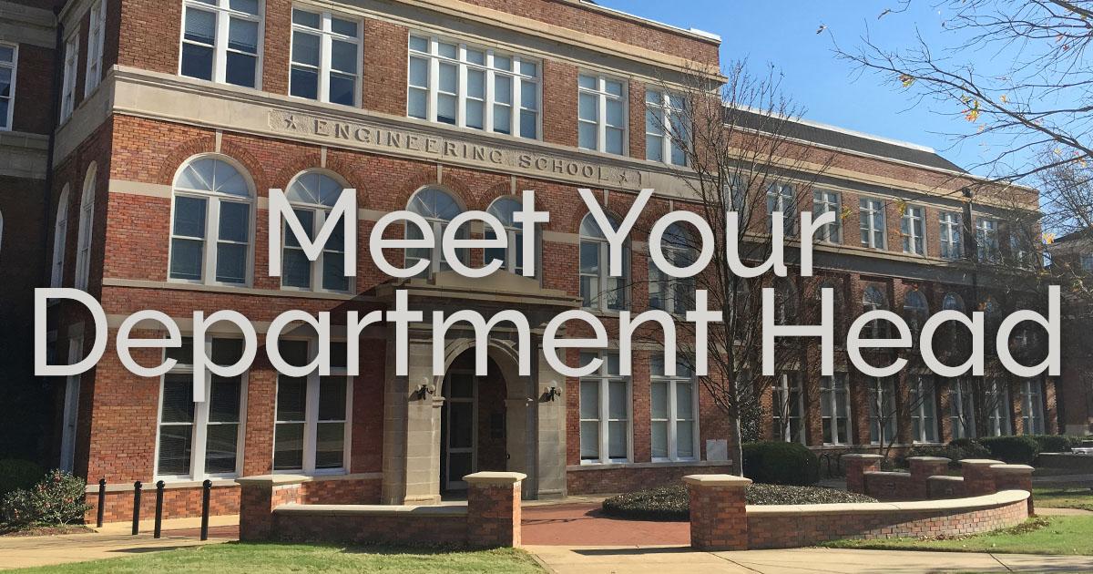 Meet Your Department Head