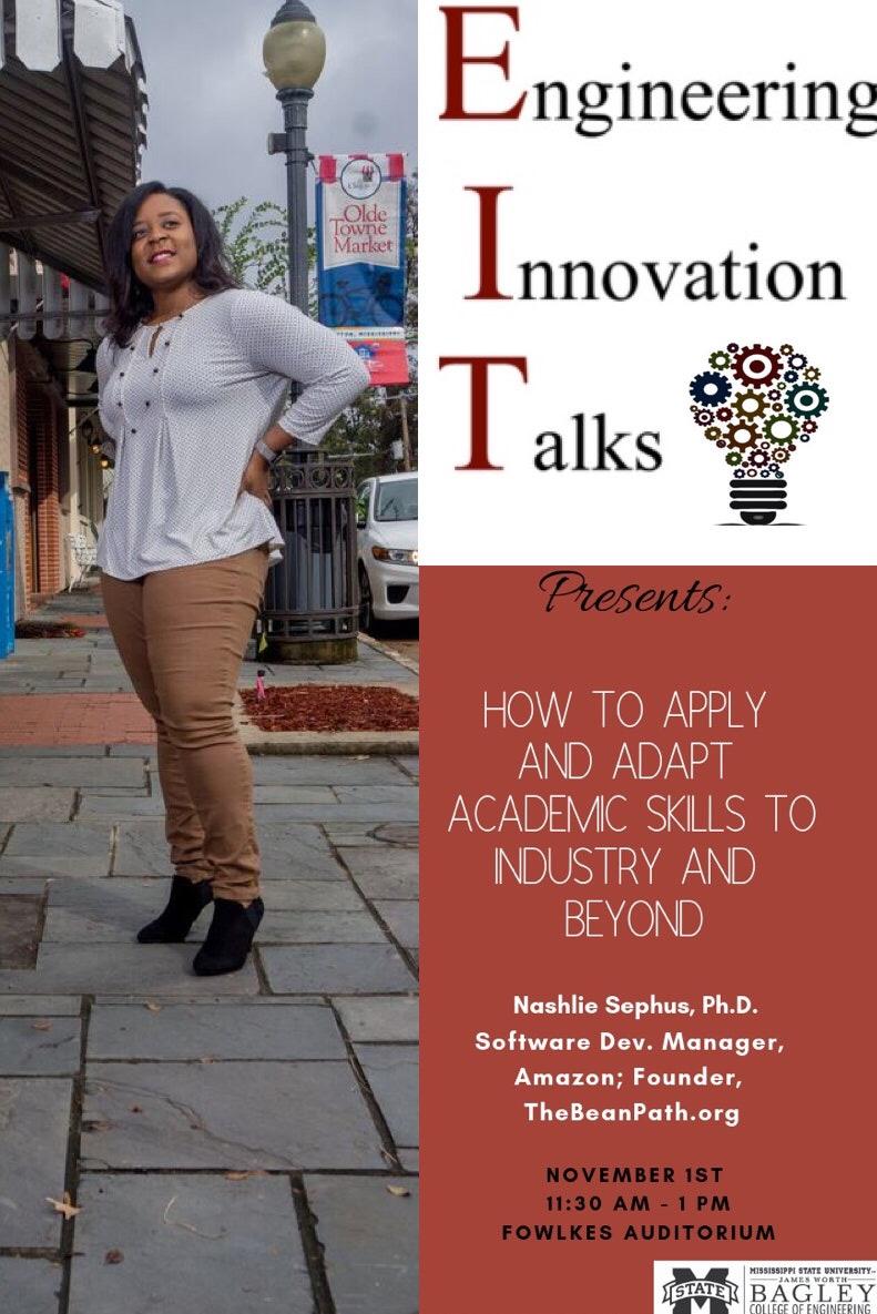 Nashlie Sephus - Engineering Innovation Talks