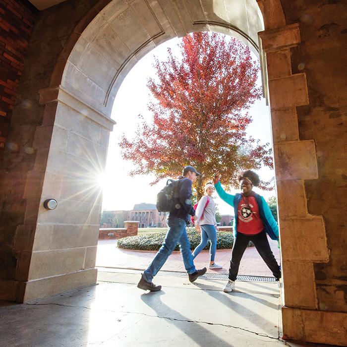 Student McCain Arch