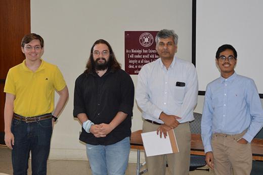 Poster presentation winners