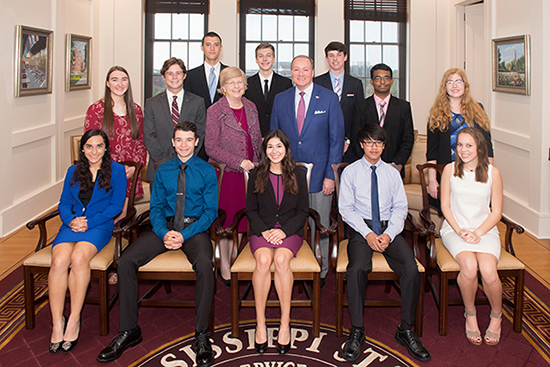 MSU honors students with 2017-18 Provost Scholarships