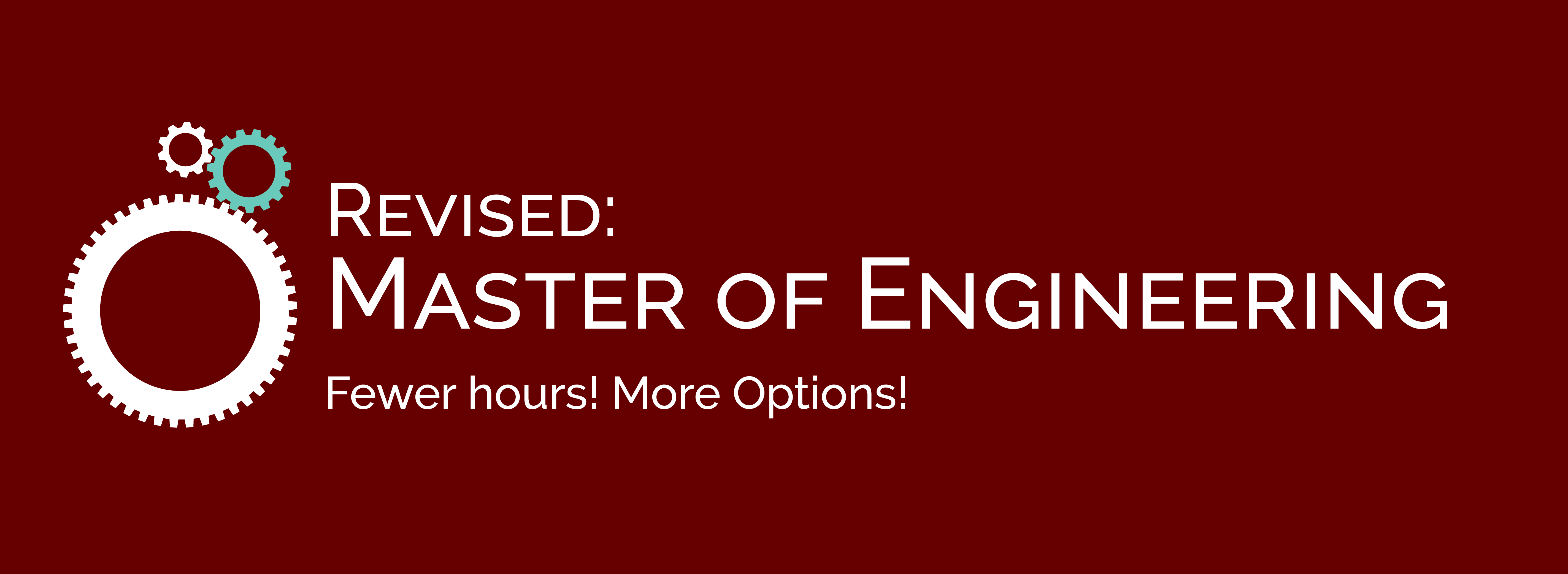 Distance Master of Engineering