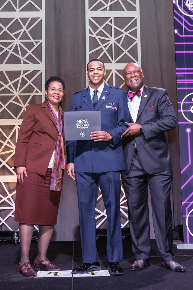 Xavier Harris, Mississippi State alum, recognized at BEYA Conference